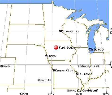 C Dodge Map by Fort Dodge Iowa Ia 50501 Profile Population Maps