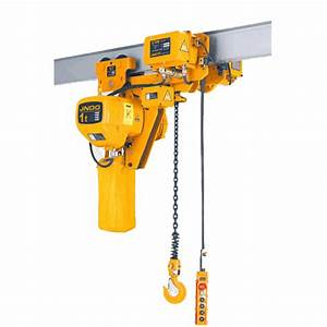 Suspension Type Electric Chain Hoist China Electric Chain