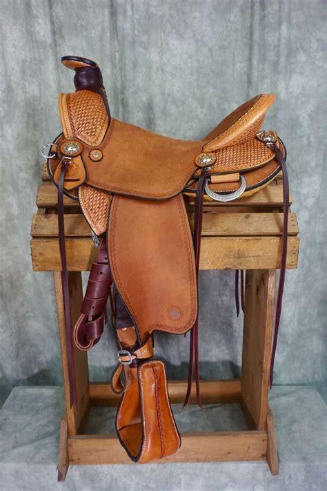 saddles horse quarter cascade wade semi western custom horses barns saddle