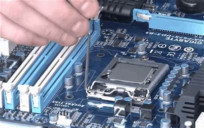 Pc Gaming Building Computer Hardware Into Cpu