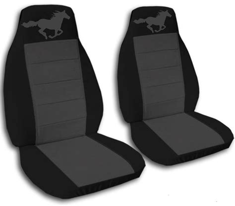 90833 Gt Seat Covers Coupon by Black And Charcoal Seat Covers For A 1994 To 2004