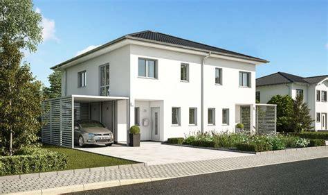 haus bauen muster doppelhaus oder reihenhaus bauen kern haus