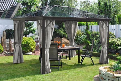 leco pavillon 187 profi pavillon 171 bxt 300 x 365 cm otto - Pavillon Mit Polycarbonat Dach