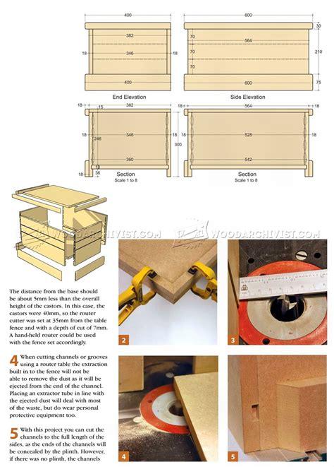 wooden toy box plans woodarchivist