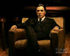 The Godfather Painting by Christopher Panza