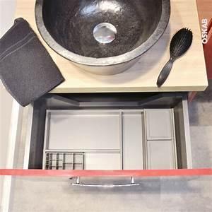Organisateur Salle De Bain : organisateur de tiroir kit de rangement n 2 l60 x p40 cm hakeo oskab ~ Teatrodelosmanantiales.com Idées de Décoration