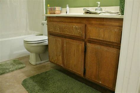 How To Refinish Bathroom Cabinets With Paint by 11 Diy Sink Bases And Cabinets You Can Make Yourself