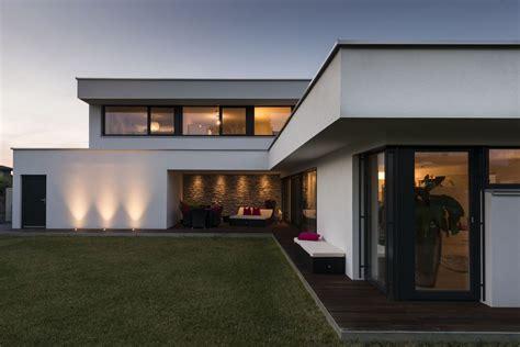 Moderne Häuser Flachdach by Einfamilienhaus Rankweil Modern Massivbau L Form