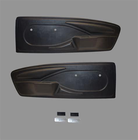 mustang vinyl door panels