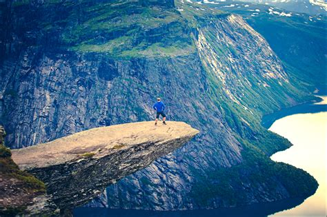 On The Edge Trolltunga Norway Most Beautiful Places In