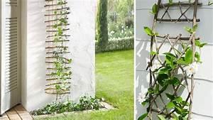 emejing treillage plantes grimpantes gallery joshkrajcik With trompe l oeil exterieur jardin 2 enrichir la decoration de son jardin avec du treillage