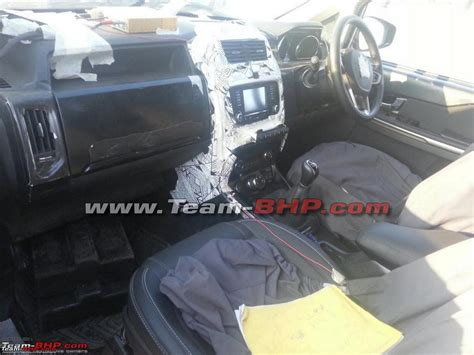 Tata Hexa's Interior Spied With Terrain Management Selector