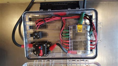 Fuse Box Bat Idea by Wiring An Aux Fuse Block Relays And Switches In A 2016