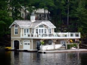 cottage house designs lake muskoka boathouses pete sobil flickr