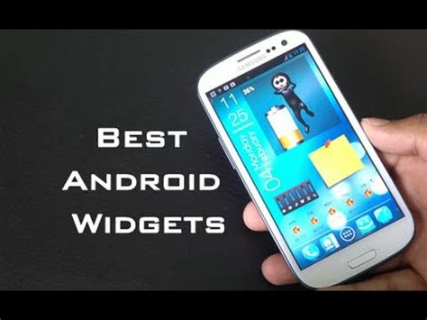 widgets for android top 10 best android widgets