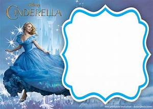 Invitation Templates For Birthday Party Free Printable Cinderella Royal Invitation Templates
