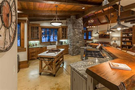 rustic wood kitchen island 29 custom solid wood kitchen cabinets designing idea 5029