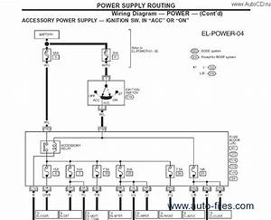 Nissan X Trail T31 User Wiring Diagram