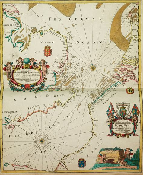 a new mappe of the sea coasts of and