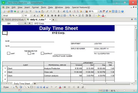 bau db automate excel  pre formatted document template