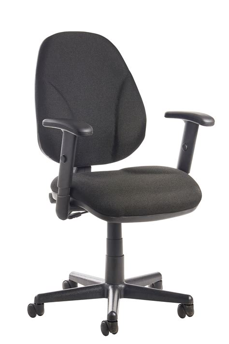 Bilbao Fabric Operators Chair With Lumbar Support And