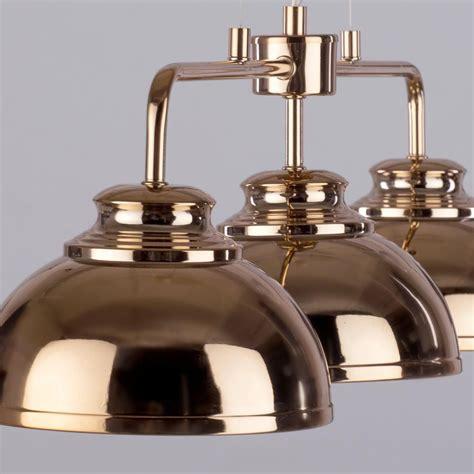 3 light industrial ceiling pendant bar