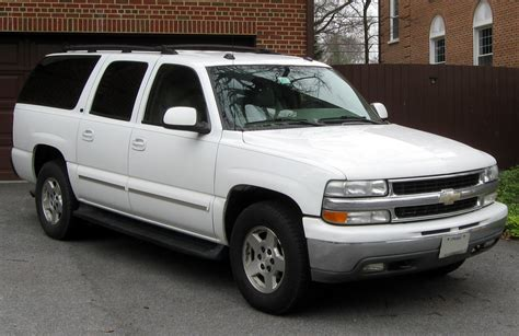 2002 Chevrolet Suburban (gmt800)  Pictures, Information