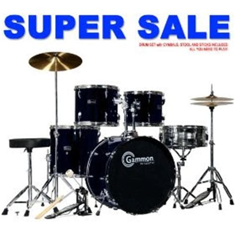 rief musik black drum set for sale with cymbals hardware