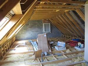Plancher Bois Etage : plancher bois isolation pour un am nagement d 39 tage 7 ~ Premium-room.com Idées de Décoration