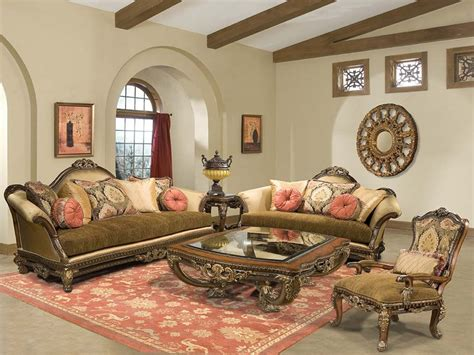 Traditional Furniture Style Italian Living Room Furniture