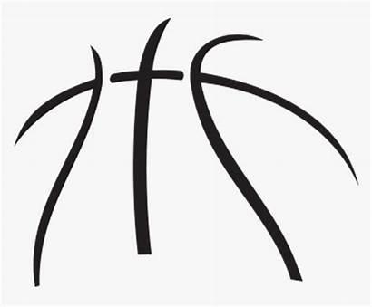 Basketball Clipart Symbol Outline Cliparts Pngitem Transparent