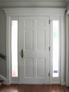 Trim, On, Entry, Door