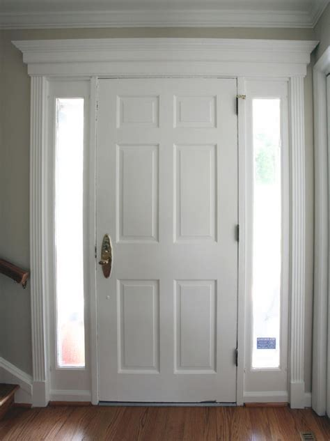 Del Pizzo Construction, LLC   Trim work above and around