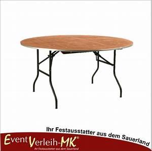 Tisch Für 10 Personen : eventverleih bankett tisch rund 183er f r 10 personen ~ Frokenaadalensverden.com Haus und Dekorationen
