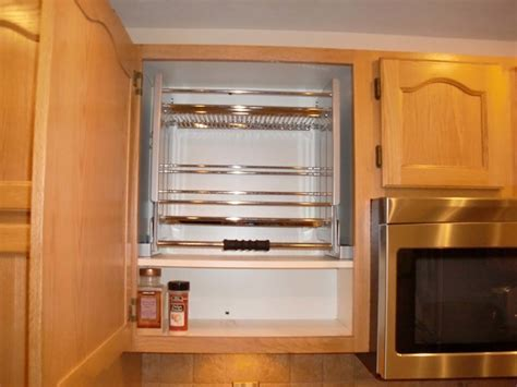 Pull Down Shelf   Traditional   Kitchen   columbus   by