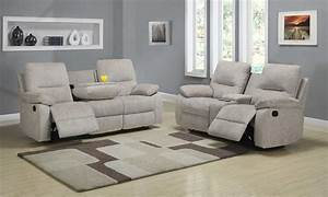 homelegance marianna reclining sofa set beige chenille With sofa bed and recliner set