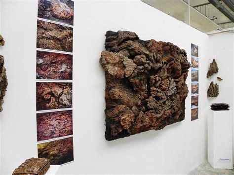 tree bark  exhibition  foundation art  mimi