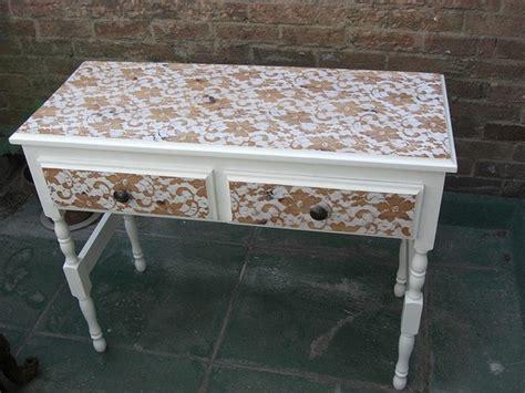 paint  lace effect   dresser  owner