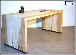 Table Bois Massif Brut : table bois live edge ~ Teatrodelosmanantiales.com Idées de Décoration