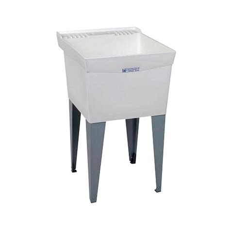 home depot garage 20 inch laundry utility sink with cabinet