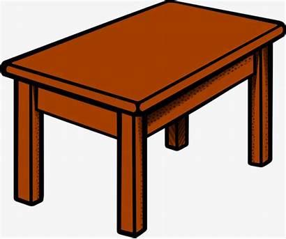 Wooden Brown Clipart Desk Wood Pngtree