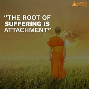 attachment quotes buddha