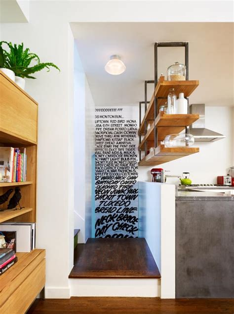 shelves design for kitchen 15 creative small kitchen design tips 5182