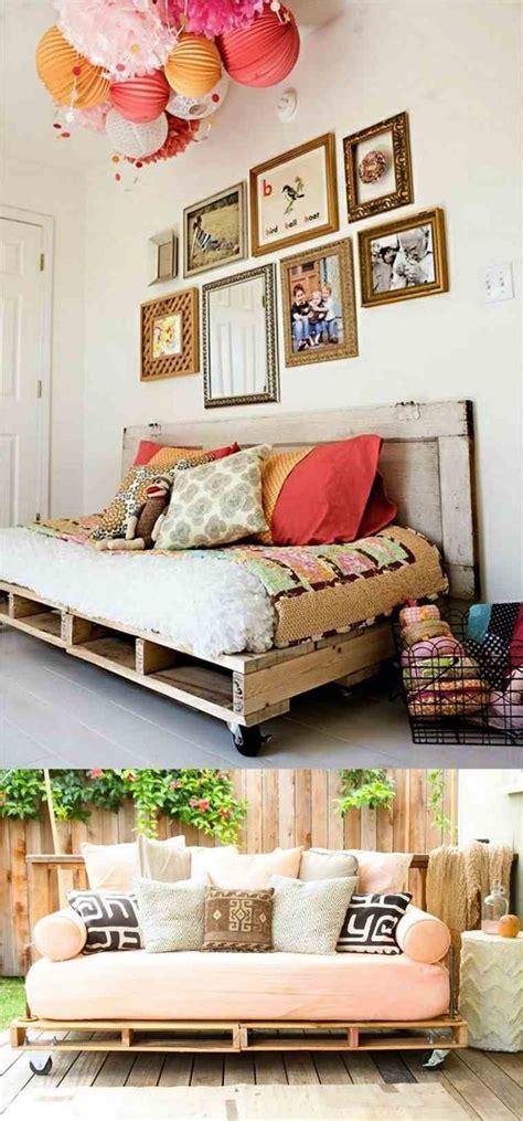 canapé avec des palettes canape en palette bois photos de conception de maison