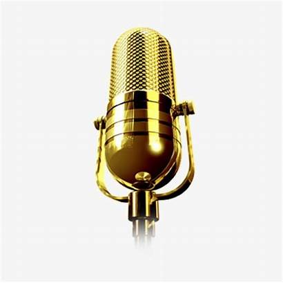 Microphone Golden Clipart Imgbin Clip Clipground