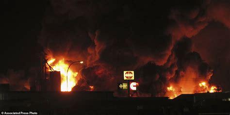 Supply Hours Williston by At Dakota Company Still Burning After 12