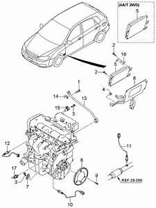 2006 Kia Spectra Hatchback Electronic Control