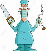 Image result for cartoon surgeon