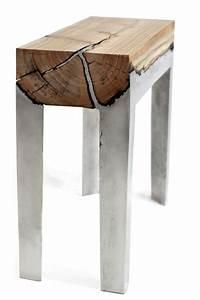 Table Beton Bois : table design beton bois zakstudio ~ Premium-room.com Idées de Décoration