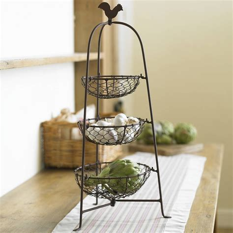 Farmhouse Tabletop Vegetable Rack   Home / Vegetable rack